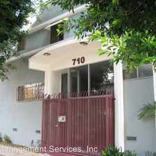 Rental info for 710 N. Genesee Ave. in the Los Angeles area