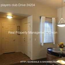 Rental info for 101 S players club Drive 24204 in the Tucson area