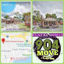 Rental info for 2664 Dellwood Avenue in the Jacksonville area
