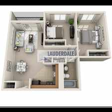 Rental info for 522 Northeast 20th Street in the Fort Lauderdale area