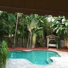 Rental info for TROPICAL PARADISE SETTING- 3/2 POOL HOME $3,000 MONTH ***SEE PHOTOS & REMARKS*** in the Fort Lauderdale area
