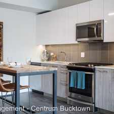 Rental info for Centrum Bucktown in the Bucktown area