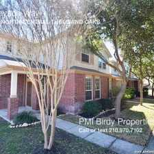 Rental info for 2518 Grayson Way in the San Antonio area