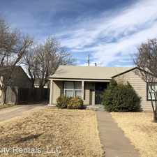 Rental info for 3720 25th Street in the Lubbock area