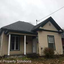 Rental info for 1630 N. National in the Springfield area