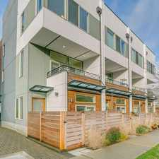 Rental info for EXQUISITE NY Style Townhome in COVETED Admiral District! in the Seattle area