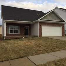 Rental info for CedarBrook Subdivision - New construction! in the Louisville-Jefferson area