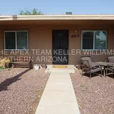 Rental info for Pre-lease for Aug 1 - Updated 2 bed, 1 bath triplex close to UA & 4th Ave in the Tucson area