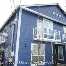 Rental info for 610 SE Spokane St