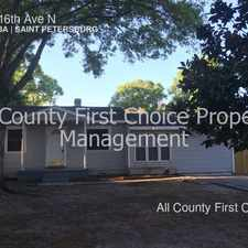 Rental info for 6010 16th Ave N in the St. Petersburg area