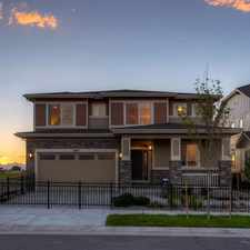 Rental info for 16007 East 118th Avenue in the Denver area