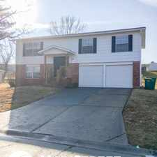 Rental info for 3854 Jeff Drive in the St. Peters area