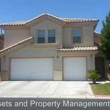 Rental info for 3799 Cape Royal St. in the Las Vegas area