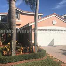 Rental info for Beautiful Silver Shores 3/2.5 Pool Home Available Now in the Miramar area