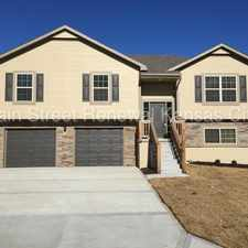 Rental info for New Home in Independence MO in the Independence area