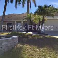 Rental info for 2018 Southwest 31st Terrace in the Cape Coral area