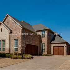 Rental info for PENDING 5 Bedroom 4 Bath With Pool in the Fort Worth area