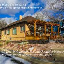 Rental info for 602 North 24th Street in the Colorado Springs area