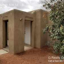 Rental info for 3422 Smith Ave SE in the Albuquerque area