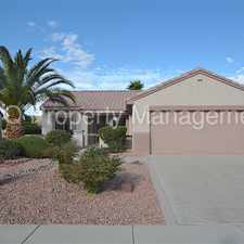 Rental info for Sun City ! Ready for move in!