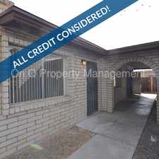 Rental info for 2 Bedroom / 1 Bathroom Unit With Community Laundry In Phoenix in the Phoenix area