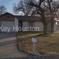 Rental info for 7000 Wildbriar Ct E Fort Worth TX 76120 in the Arlington area