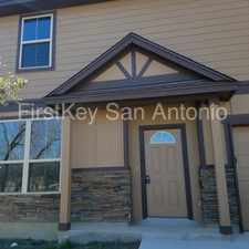 Rental info for 3514 Bob Billa Street in the San Antonio area