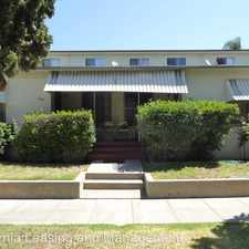 Rental info for 501 E. Palm Avenue in the Los Angeles area