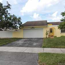 Rental info for 14919 Southwest 67th Lane in the Kendall West area