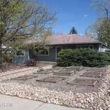 Rental info for 360 27th Street in the Boulder area