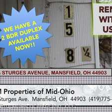 Rental info for 158 1/2 Sturges Ave. - Upstairs Unit