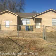 Rental info for 557 E 49th St N in the Tulsa area