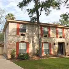 Rental info for 3918 Midforest Drive in the Houston area
