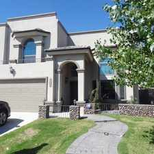 Rental info for 13267 Emerald Hills in the El Paso area