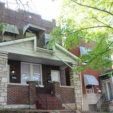 Rental info for 3837 Michigan Avenue #A in the St. Louis area