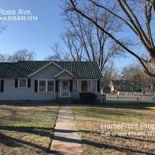Rental info for 1127 Rose Ave. in the Murfreesboro area