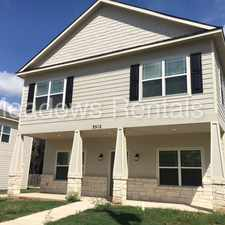 Rental info for 3512 S 4th in the Waco area