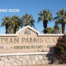 Rental info for Two Bedroom For Rent in Indian Palms!