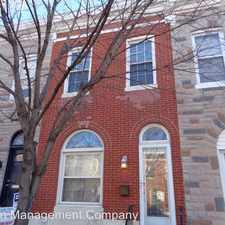 Rental info for 21 N Potomac St. in the Baltimore area