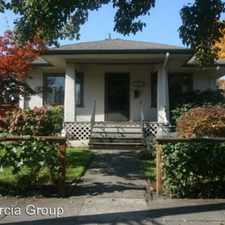 Rental info for 6705 SE 20th Ave. in the Portland area