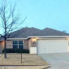 Rental info for 5749 Mountain Stream Trail in the Fort Worth area