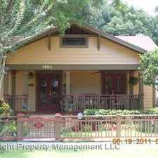 Rental info for 1504 Mount Vernon St. in the Orlando area