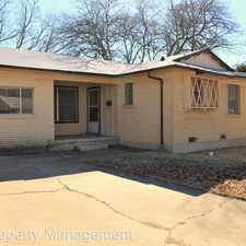 Rental info for 708 Alexander Street in the Fort Hood area