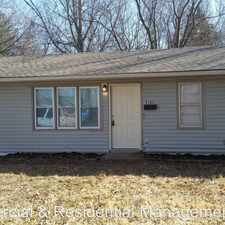 Rental info for 5163 Palmer Drive in the Kansas City area
