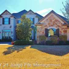 Rental info for 3200 Wildpointe Court in the Fort Worth area