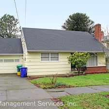 Rental info for 37 NE 84th Ave in the Portland area