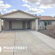 Rental info for 8837 West Brown Street in the Glendale area