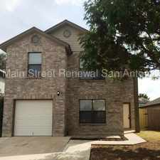 Rental info for Beautifully Upgraded Home in the San Antonio area