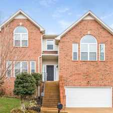 Rental info for 1609 Crosswind Place in the Nashville-Davidson area