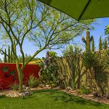 Rental info for Gorgeous Scottsdale, 4 Bedroom, 3 Bath in the Scottsdale area